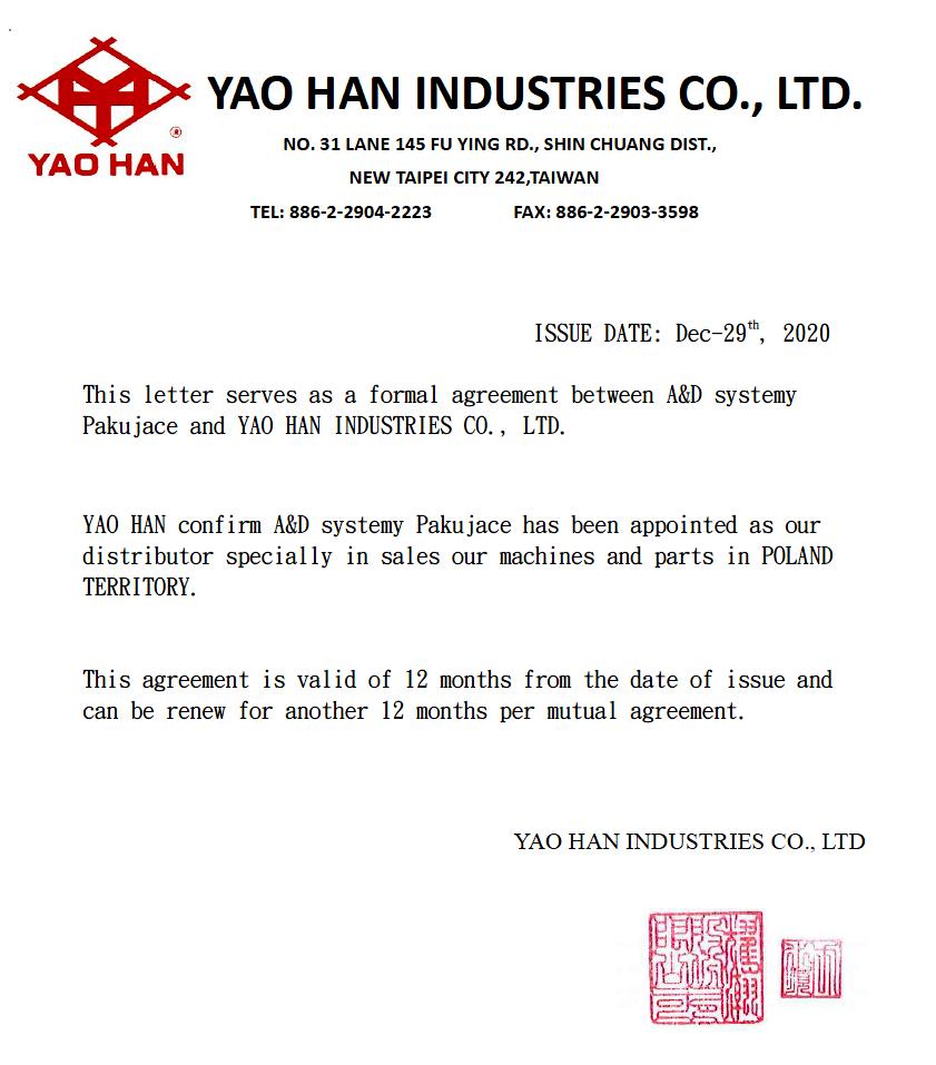 Certyfikat Yao-Han